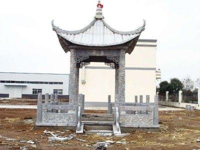 changqu花岗岩石liang亭