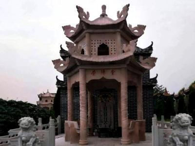 荣yang堂晚xia红石liang亭