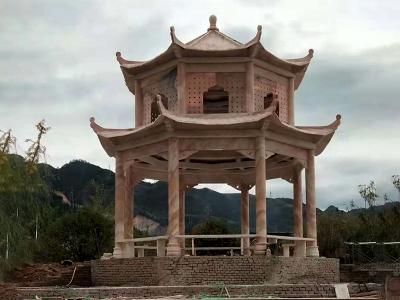 shan脚石liang亭