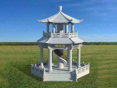 观景石liang亭