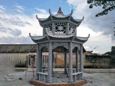 休xi石liang亭