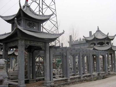 石雕cheng石雕长廊亭子