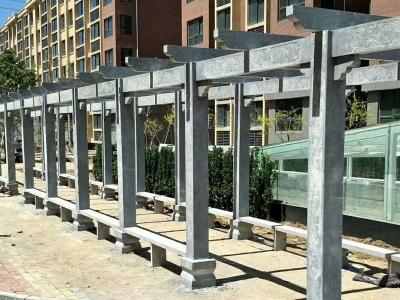 xiao园jianyi石雕长廊
