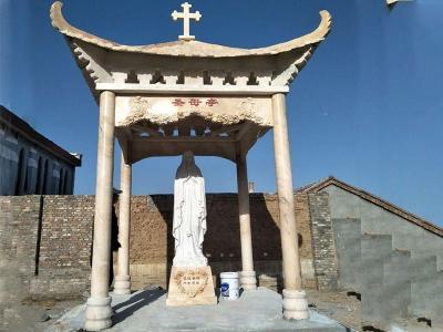 圣母亭-四角石liang亭