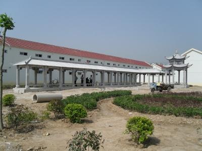 石liang亭长廊