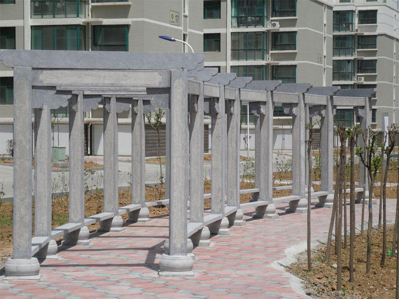 xiao区石雕长lang(图1)